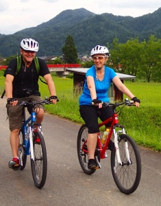 Cycling in Satoyama