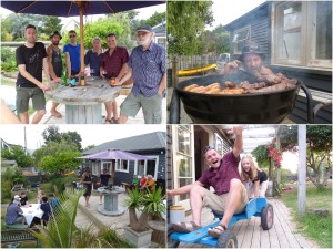 bbq collage